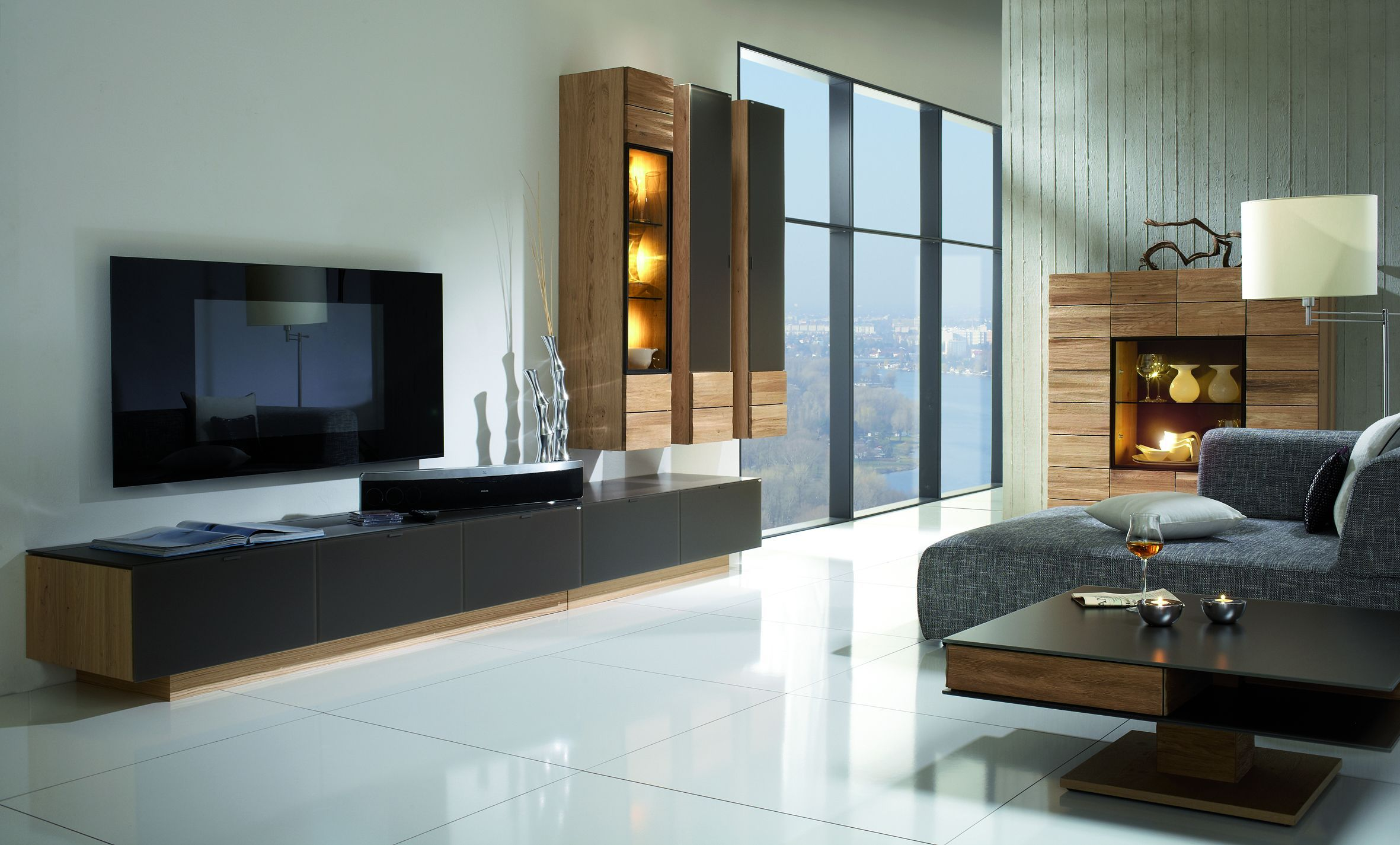 wohnkombination v montana moebel bleiker. Black Bedroom Furniture Sets. Home Design Ideas